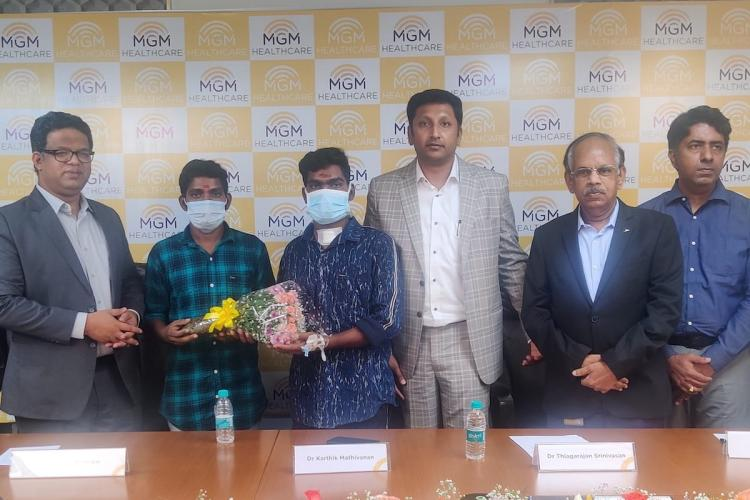MGM Hospital treats 26-yr-old COVID patient