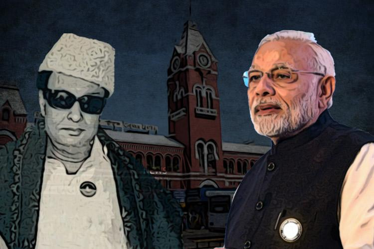 BJP can rename Chennai Central but MGRs legacy is beyond its reach