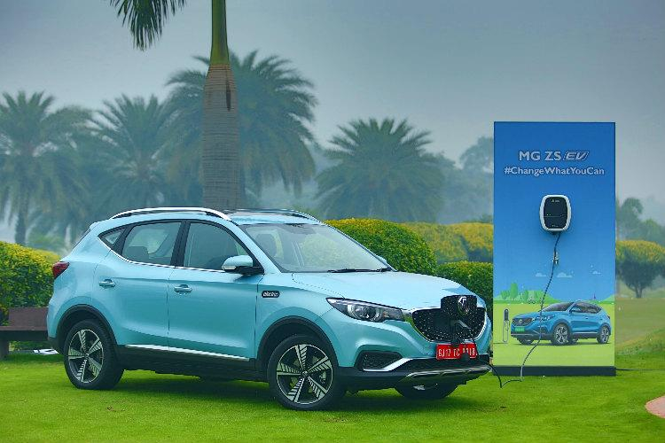 MG Motors launches electric internet SUV ZS EV in India