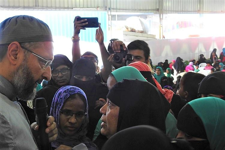 How the AIMIM is reaching out to female voters in Hyd with all-women meets