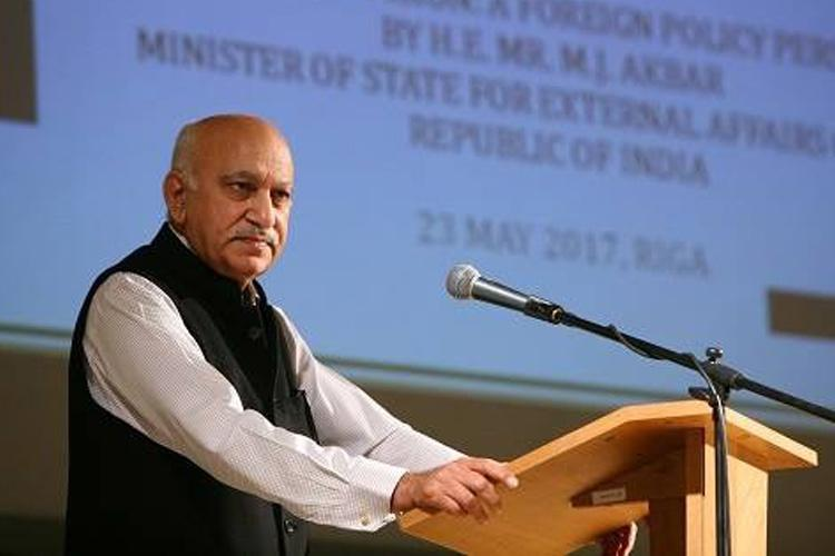 MJ Akbar cross-questioned in Priya Ramani case denies he met her in hotel room