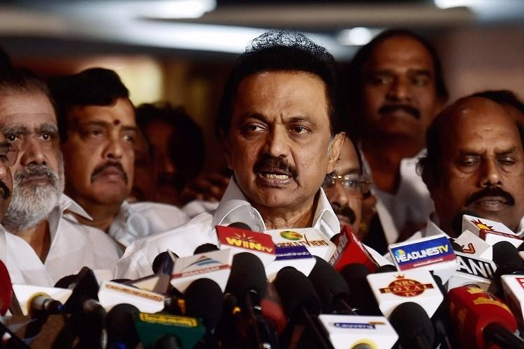 Mr. MK Stalin said delay in directing an immediate floor test will only encourage horse trading