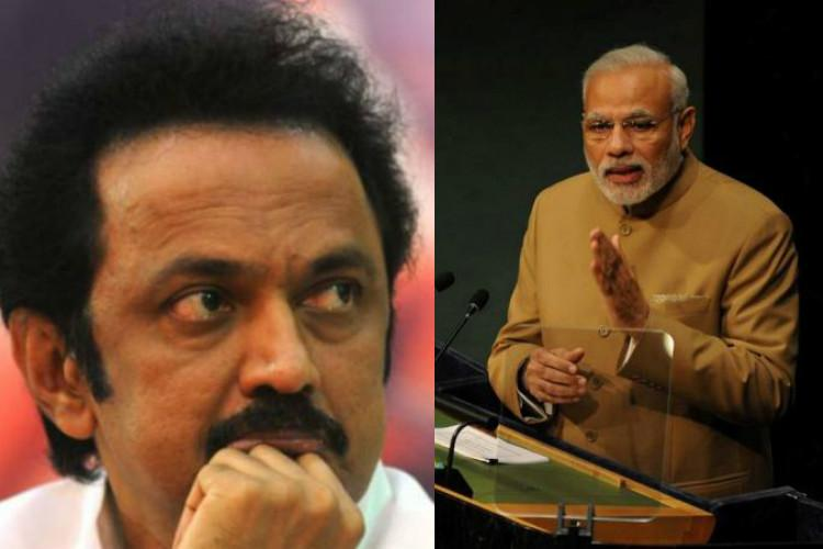 MK Stalin attacked PM Modi for not bothering about people of India