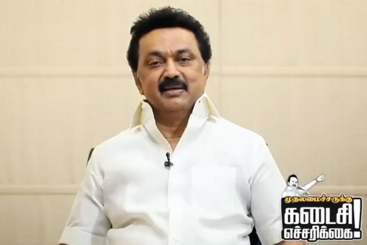 DMK Chief MK Stalin criticises the AIADMK government in Tamil Nadu for under reporting of deaths