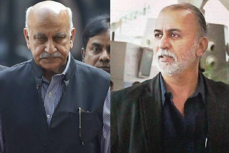 Editors Guild of India suspends MJ Akbar Tarun Tejpal over Me Too allegations