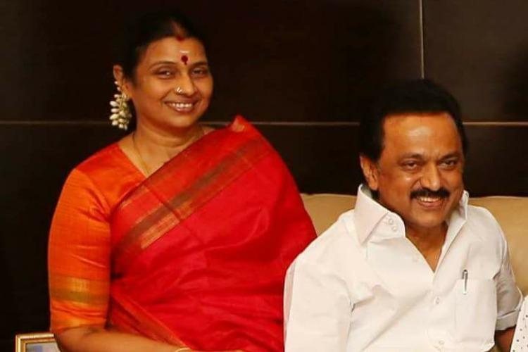 MK Stalins wife Durga threatens to sue Vikatan Wants apology Rs 10 cr in damages