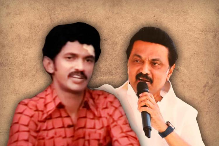MK Stalin collage stylised image