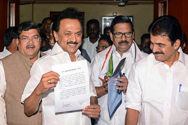 MK Stalin urges TN CM to follow Pinarayis lead pass anti-CAA resolution in Assembly