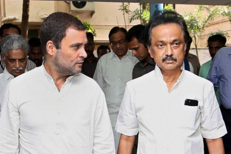 Congress-DMK talks hit impasse, Cong miffed with DMK offer of 18 seats |  The News Minute
