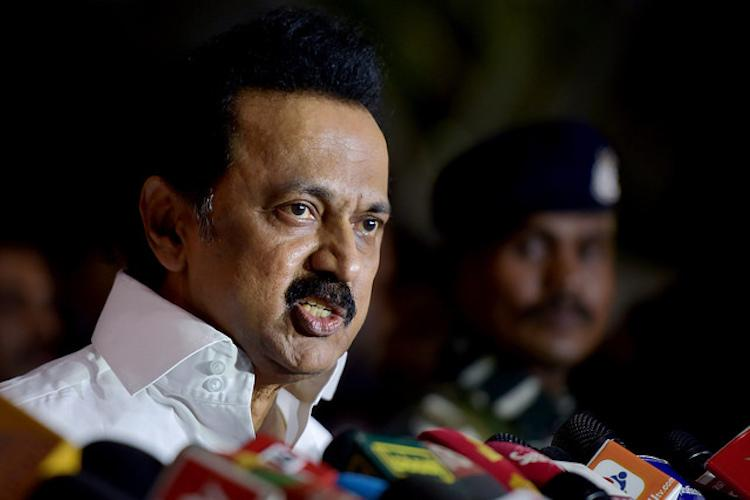 Gutkha scam MK Stalin demands sacking and arrest of Min Vijayabaskar DGP Rajendran
