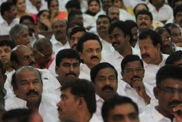 Stalin rises above petty politics attends Jaya swearing-in ceremony
