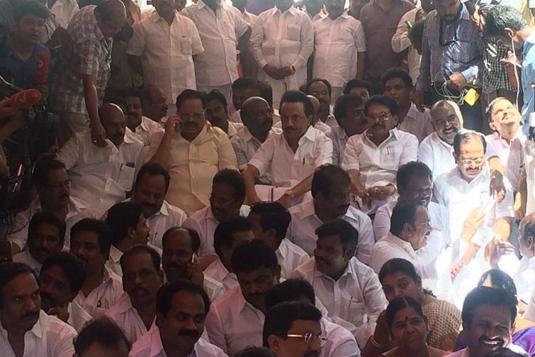 DMK members suspension will not be revoked TN Speaker