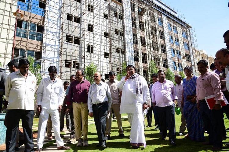 Telanganas new MLA quarters ready legislators to get plush 3BHK flats in Hyd