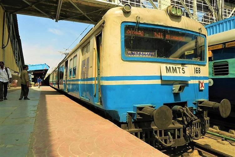 Woman falls off moving train in Hyd while picking up phone body split into two