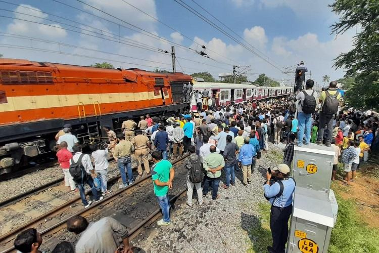 Hyderabad train collision MMTS driver stuck in cabin rescued after 8-hour operation