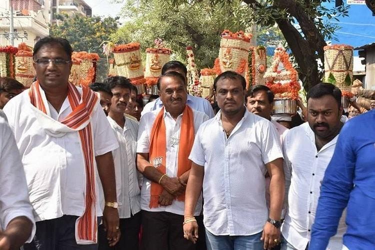 Case booked against BJP candidate MN Reddy for using children in campaign
