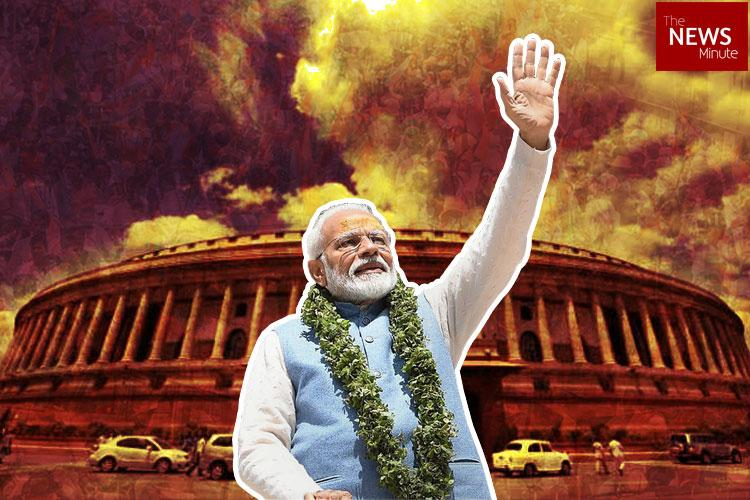 Lok Sabha 2019 Landslide for NDA Narendra Modi all set to become PM again