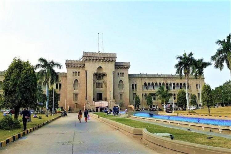 Osmania Universitys Arts College in Hyderabad