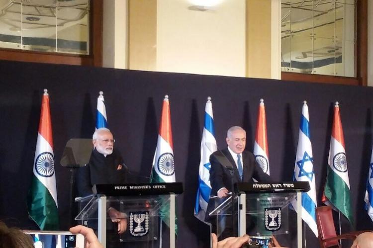 India and Israel sign seven agreements including three on space cooperation