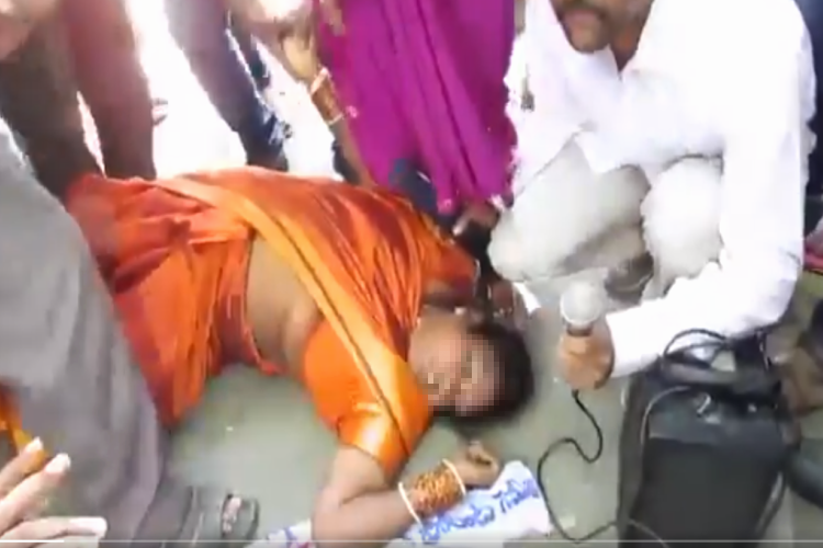 Caught in chaos Hyd woman activist dies during protest over caste categorization