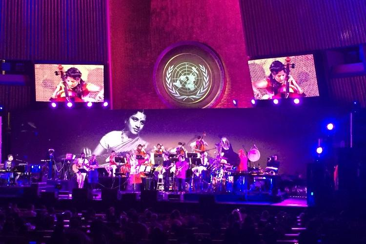 Magic of AR Rahman comes alive at the UN on Indias 70th Independence Day