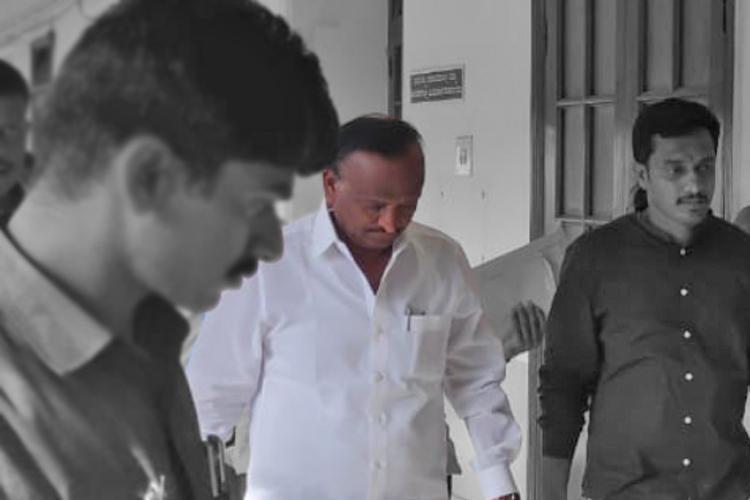No question of withdrawing resignation Cong MLA MTB Nagaraj tells media in Mumbai