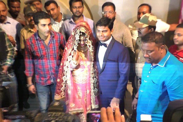 Hindu-Muslim wedding in Mysuru takes place unhindered under police protection