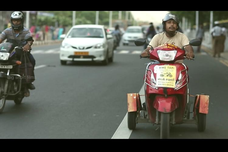 Chennai try Maa Ula a bike-taxi service run by the differently-abled