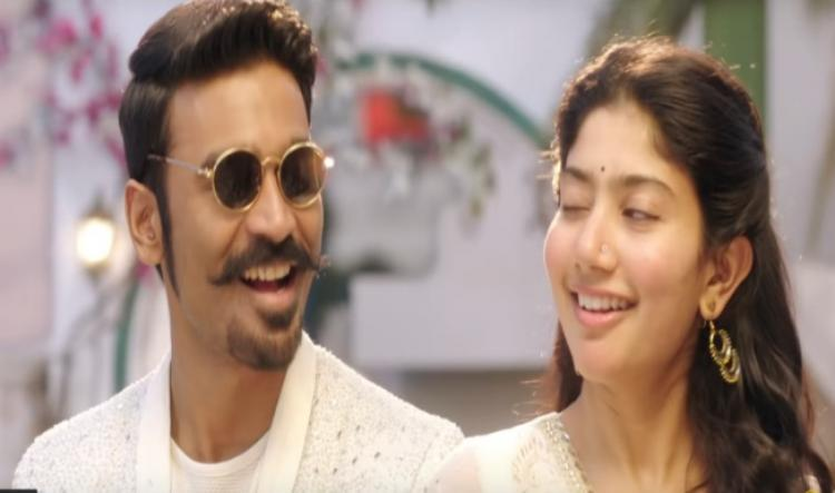 Sai Pallavi and Dhanushs Rowdy Baby ranks 4 on Billboard YouTube chart