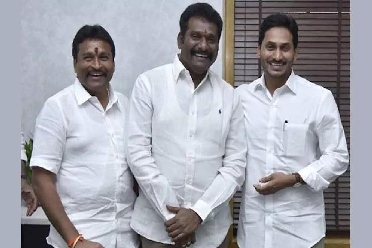 TDP legislator Maddali Giri quits party after meeting CM Jagan