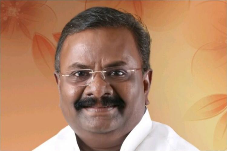 Congress candidate Madhava Rao