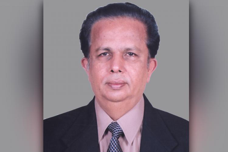 G Madhavan Nairs file photo