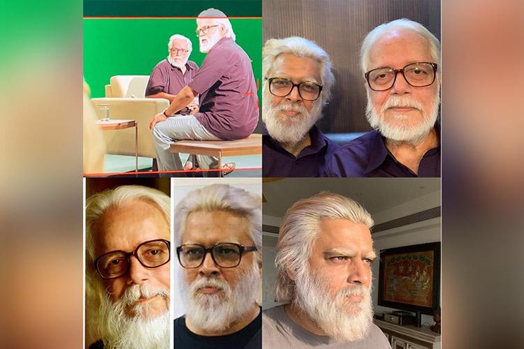 Madhavans latest photos show striking resemblance with scientist Nambi Narayanan