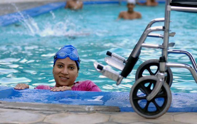 10 years after doctors gave her 6 months to live this TN para-swimmer is a national champion
