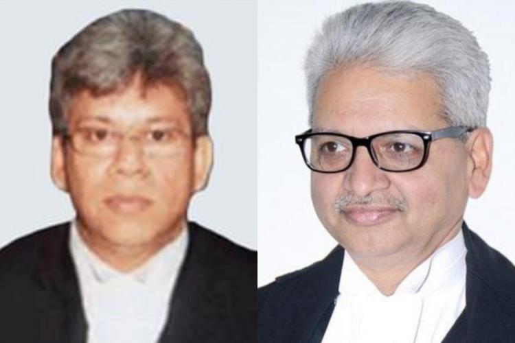 Justices Sanjib Banerjee and AP Sahi