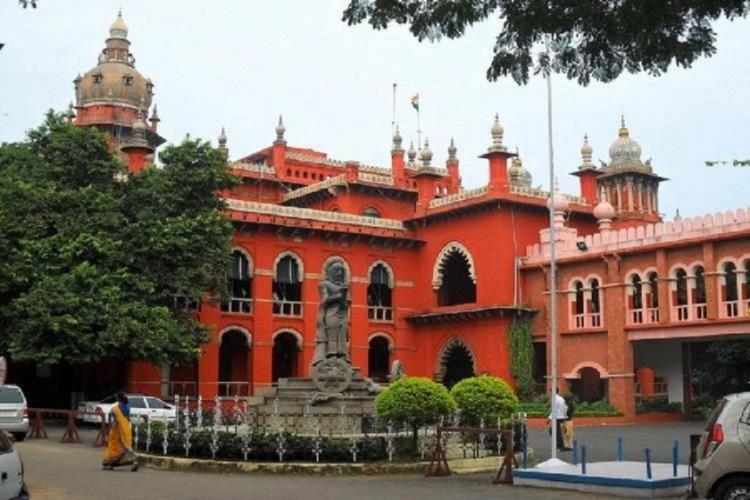 Madras high court buildings