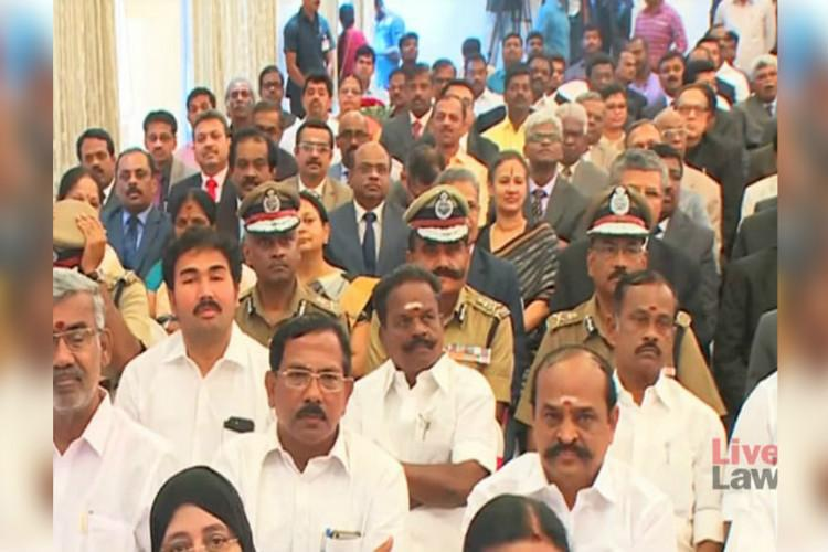 Madras HC judge calls out TN govt over seating arrangements at CJ swearing-in