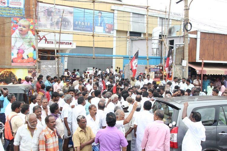 Chennai activist filed a sedition complaint against Sarkar filmmaker