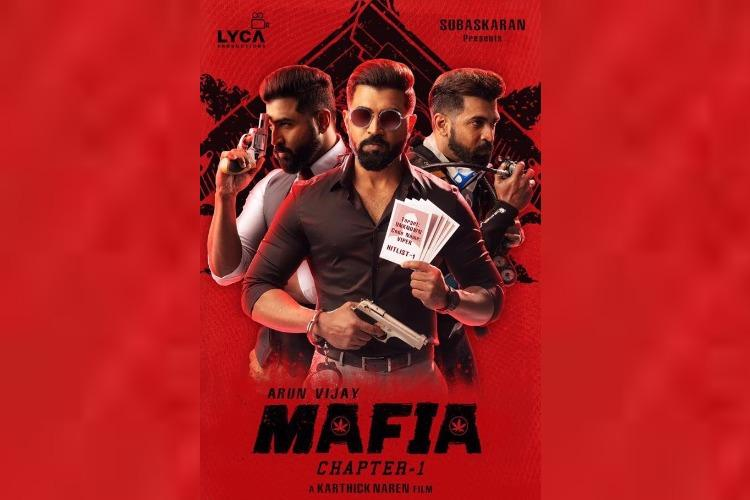 Karthick Narens next with Arun Vijay titled Mafia first look unveiled