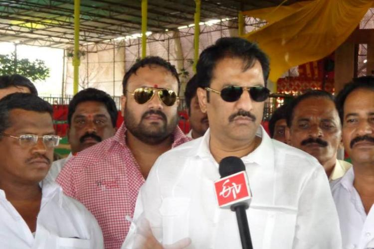 One more TDP MLA to join TRS party suspends legislator