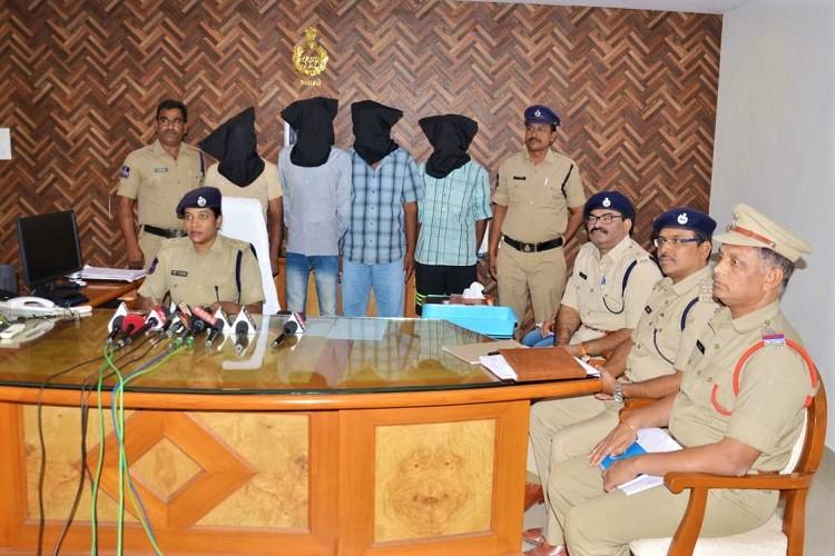 Telangana police bust gang smuggling ganja to Sri Lanka from Andhra 4 held