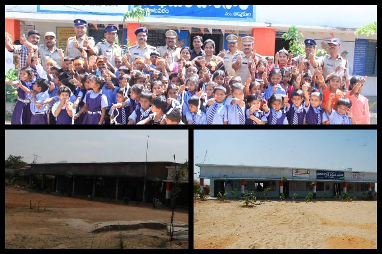 How the Telangana police gifted a Mahbubnagar village a beautiful school for its children