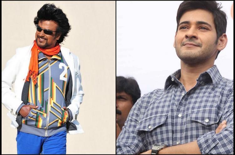 Rajinikanth watches Mahesh Babus Spyder praises film