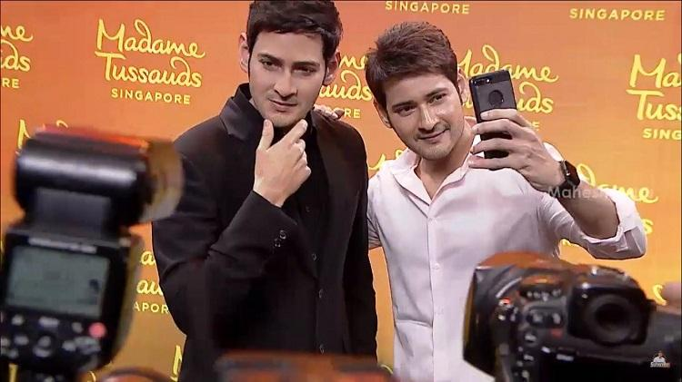 Mahesh Babus wax statue for Madame Tussauds museum unveiled in Hyderabad