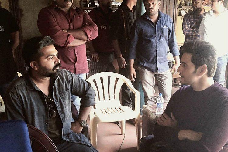 Mahesh Babu Simbu bond on the sets of Vantha Rajavathaan Varuven