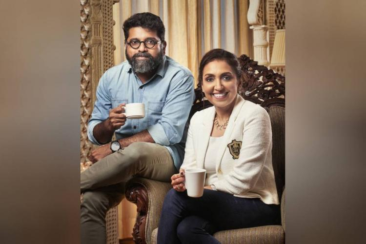 Director Mahesh Narayanan and producer Priti