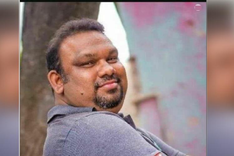 Eggs thrown at Kathi Mahesh in Hyderabad Film critic asks Pawan Kalyan to respond