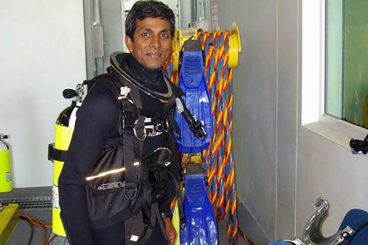 Meet Mesh Manoharan the Kerala diver who rescued over 70 people during the floods