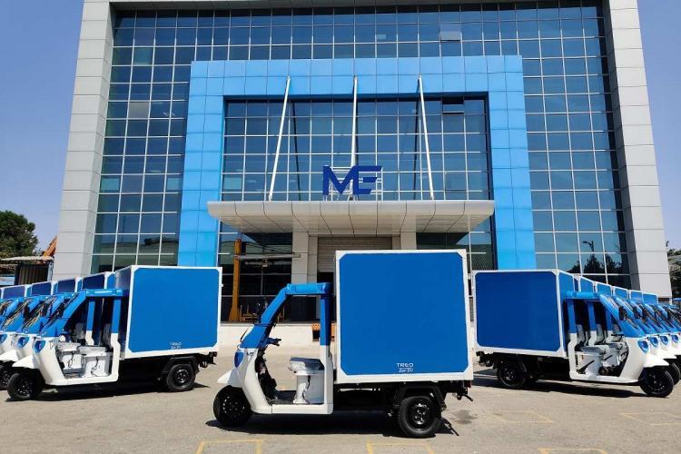 The Mahindra vehicles to be used by Amazon