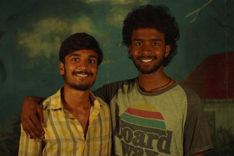Harshith Malgireddy and Mani Aegurla who star in the film